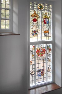Wolford Lodge Stained Glass Window
