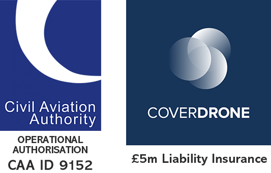 Coverdrone Insured / CAA Authorised ID 9152