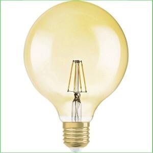 Globelampen goud