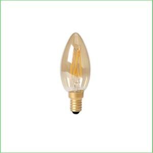 Kaarslamp E14 goud