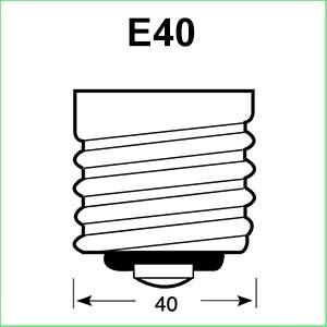 E40 lampen
