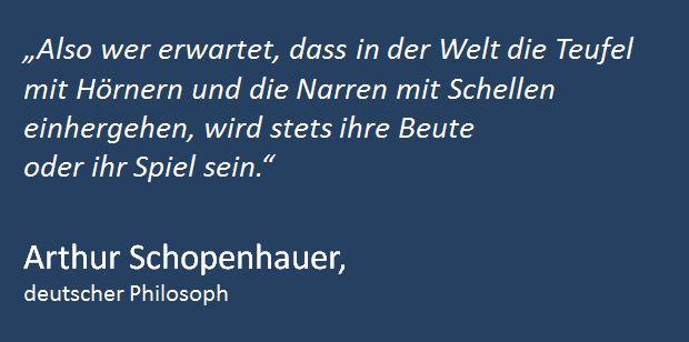 Zitat Schopenhauer