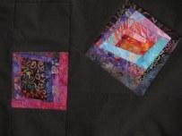 detail of squares