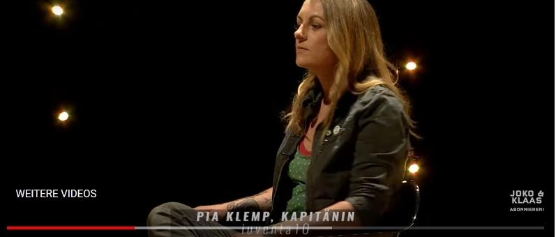 Pia Klemp, Kapitänin