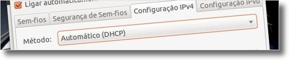 Configure a internet wireless da UBI no Ubuntu (6/6)