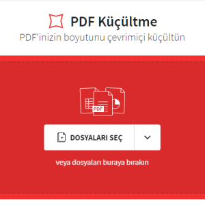 Pdf dosyaları birleştirmek ve küçültmek