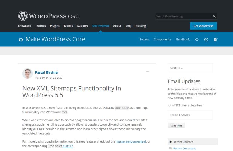 wordpress-sitemap-func