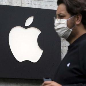Apple kendi çalışanları için maske tasarladı