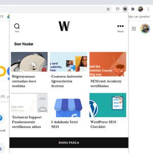 Chrome eklentisi nasıl yapılır?