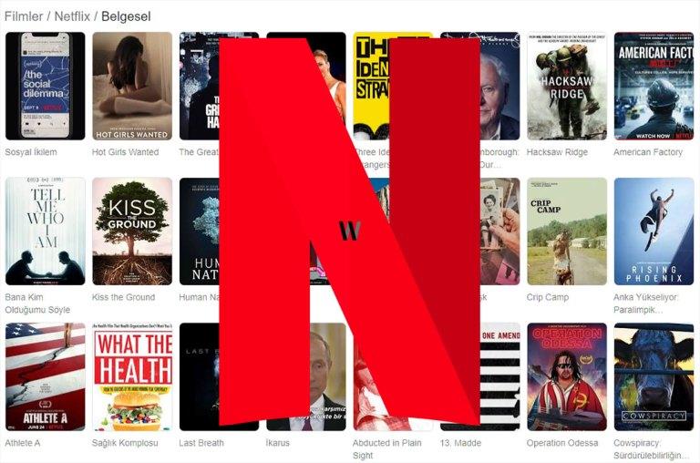 En iyi belgeseller - Netflix