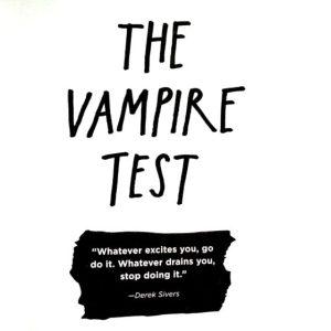 Vampir testi ile hayatınızdaki zehirli insanları bulmak