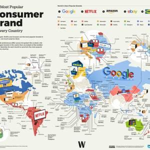 Dünyanın en popüler tüketici markaları
