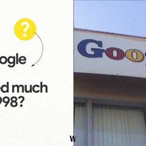 1998'den bu yana Google
