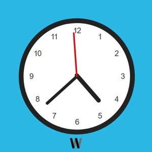 HTML, CSS ve JavaScript ile analog saat