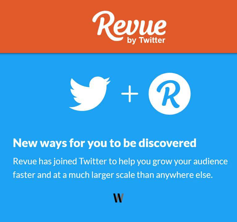 Twitter Acquires Newsletter Platform Revue - 2021