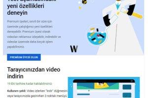 YouTube için Labs sayfası