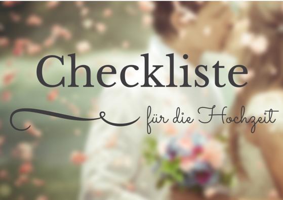 Zeitplan fr die Hochzeitsvorbereitung  wolkeacht