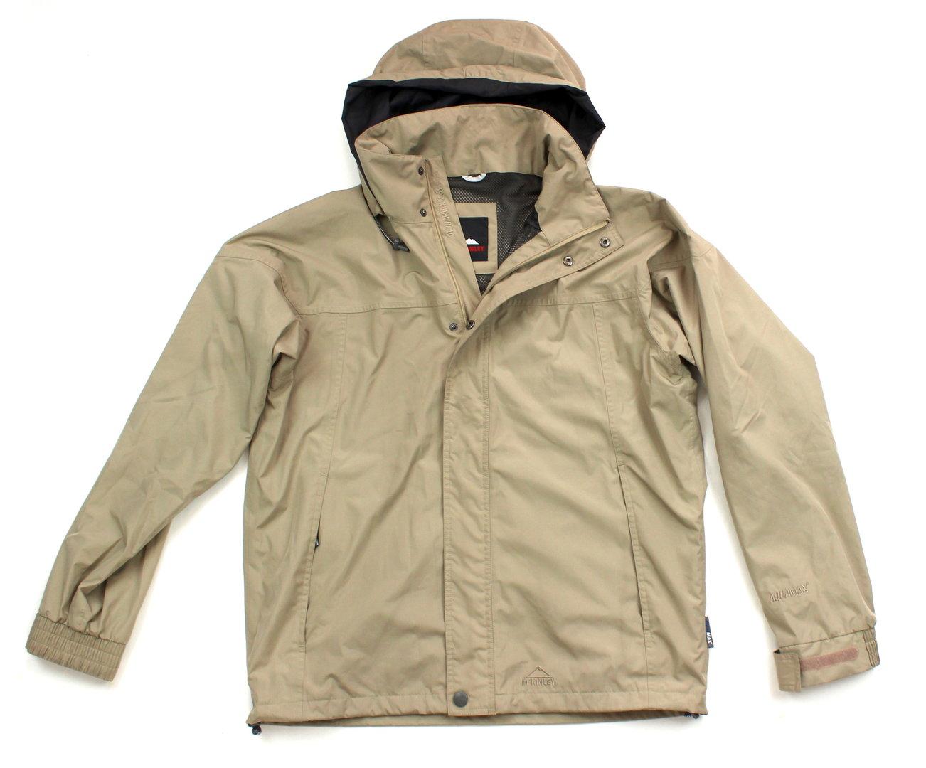 McKINLEY Outdoor Wetter Wander Jacke Herren beige L wolkengang.de