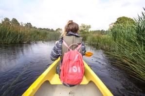 Soomaa Nationalpark Estland, Kanu fahren