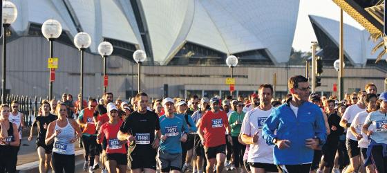 Sydney Morning Herald Half Marathon 2012