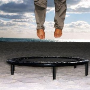 trampoline-squats
