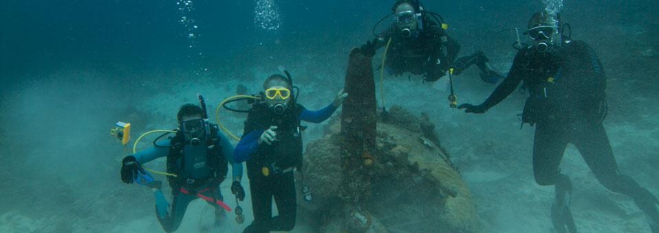 Wreck Diving at Truk Lagoon