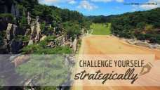Challenge yourself strategically (Good WORD Spread WORLD, excerpt from Pastor Jeong Myeong Seok's sermons)