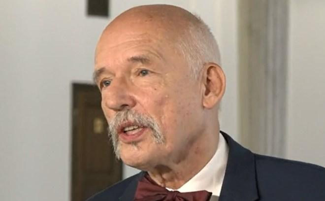Janusz Korwin-Mikke roszczenia żydowskie