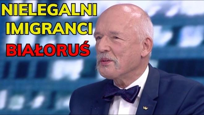 Janusz Korwin-Mikke imigranci Białoruś