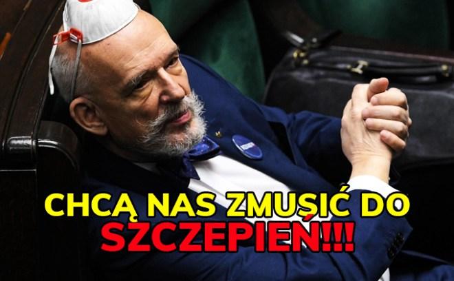 Janusz Korwin-Mikke szczepienia