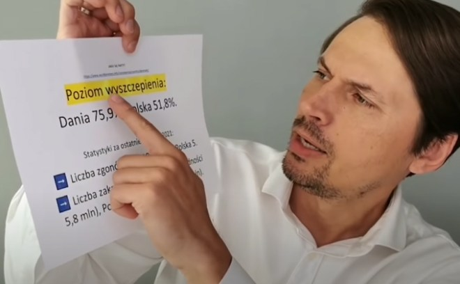 Grzegorz Płaczek o Covid