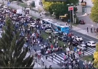 Protesty w Słowenii przeciwko szczepieniom