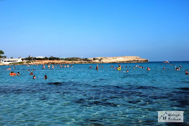 Ayia napa Nissi Beach najlepsza plaża