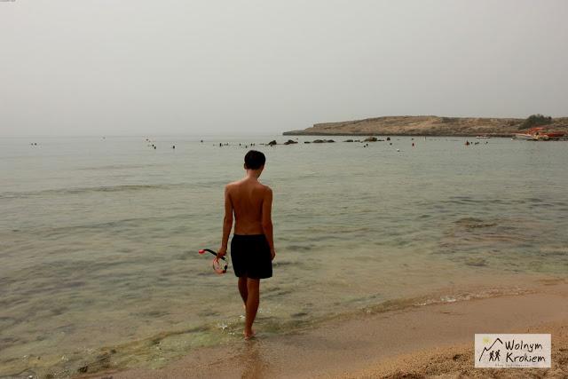 Ayia Napa najlepsze plaże Pernera