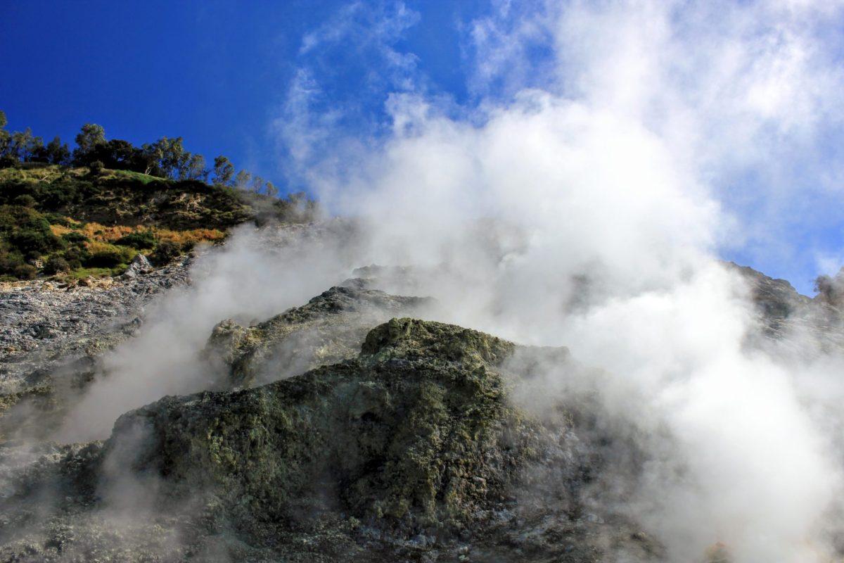 Wulkan Solfatara w pobliżu Neapolu