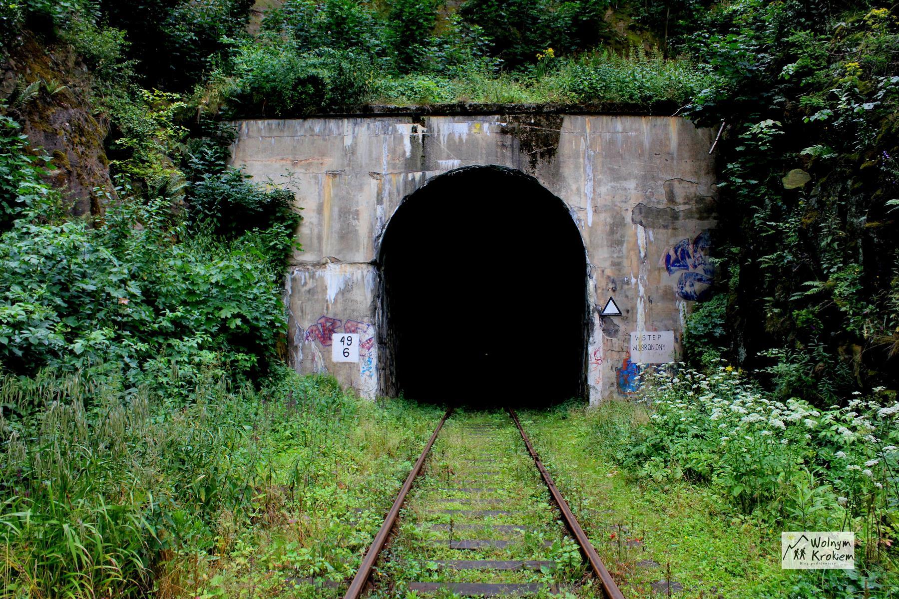 najdłuższy tunel w polsce Wałbrzych