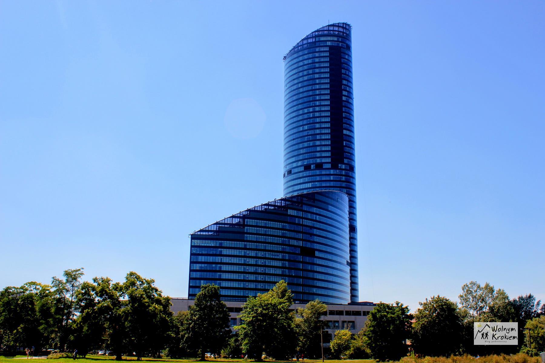 SkyTower Wrocław najwyższy budynek mieszkalny w Polsce