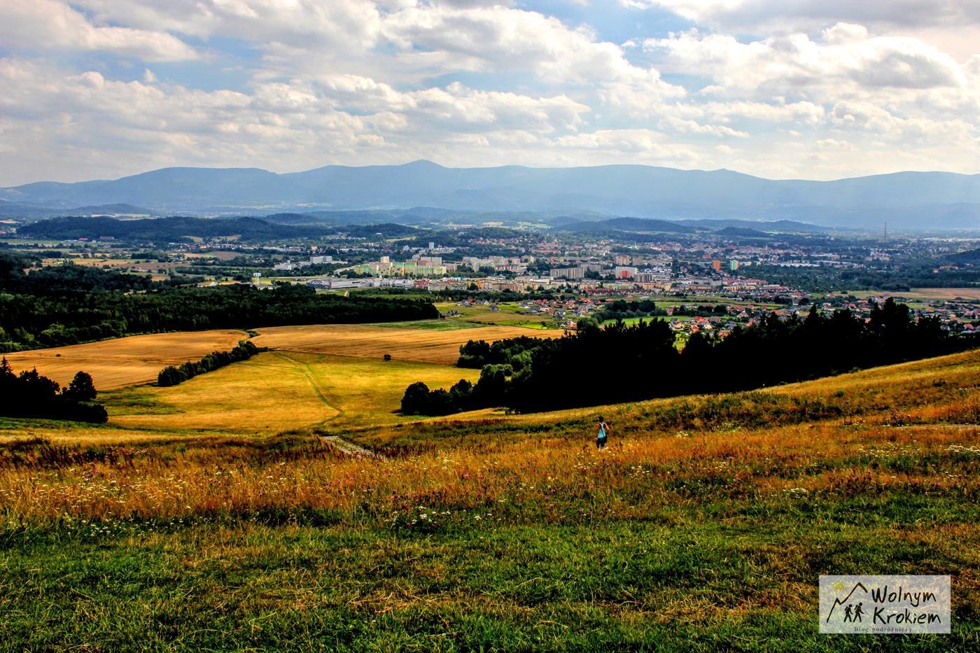 Punkt widokowy z Góry Szybowcowej w Jeleniej Górze