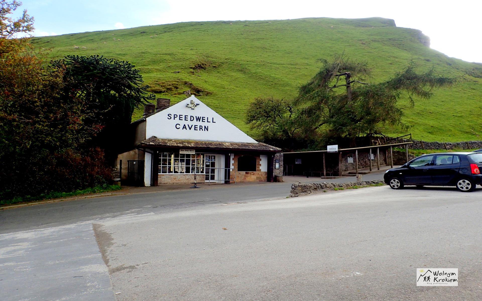 Peak District Jaskinia Speedwell Cavern
