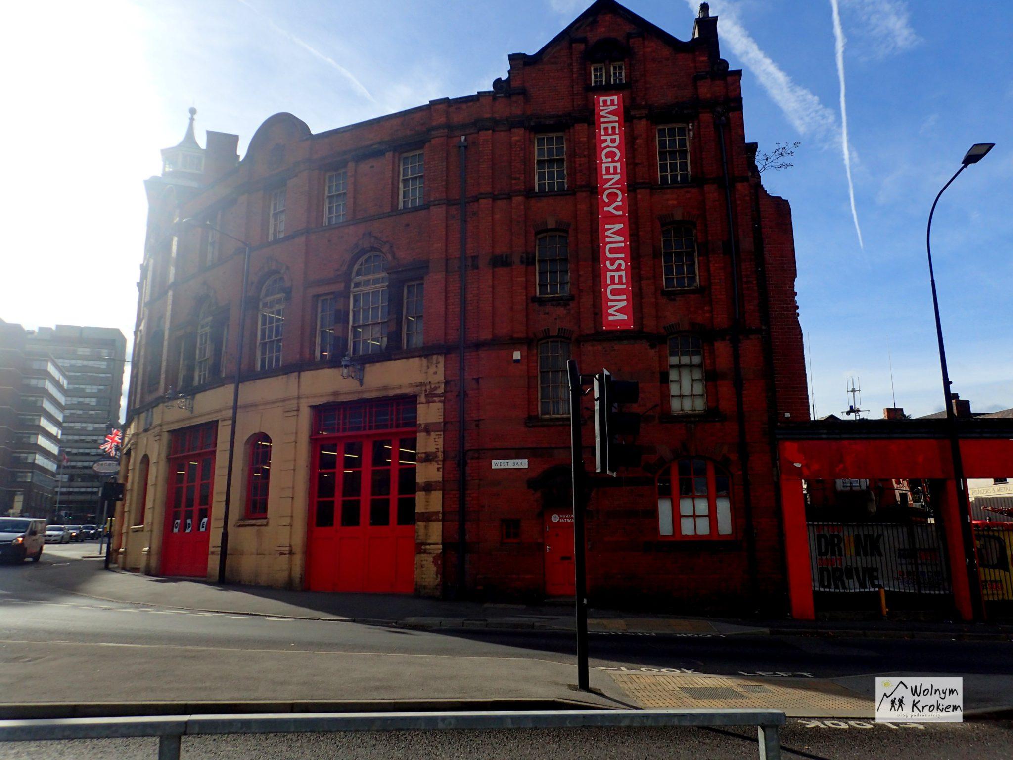 muzeum pojazdów ratunkowych Sheffield