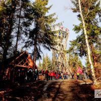 Borowa - Wieża widokowa | Korona Sudetów