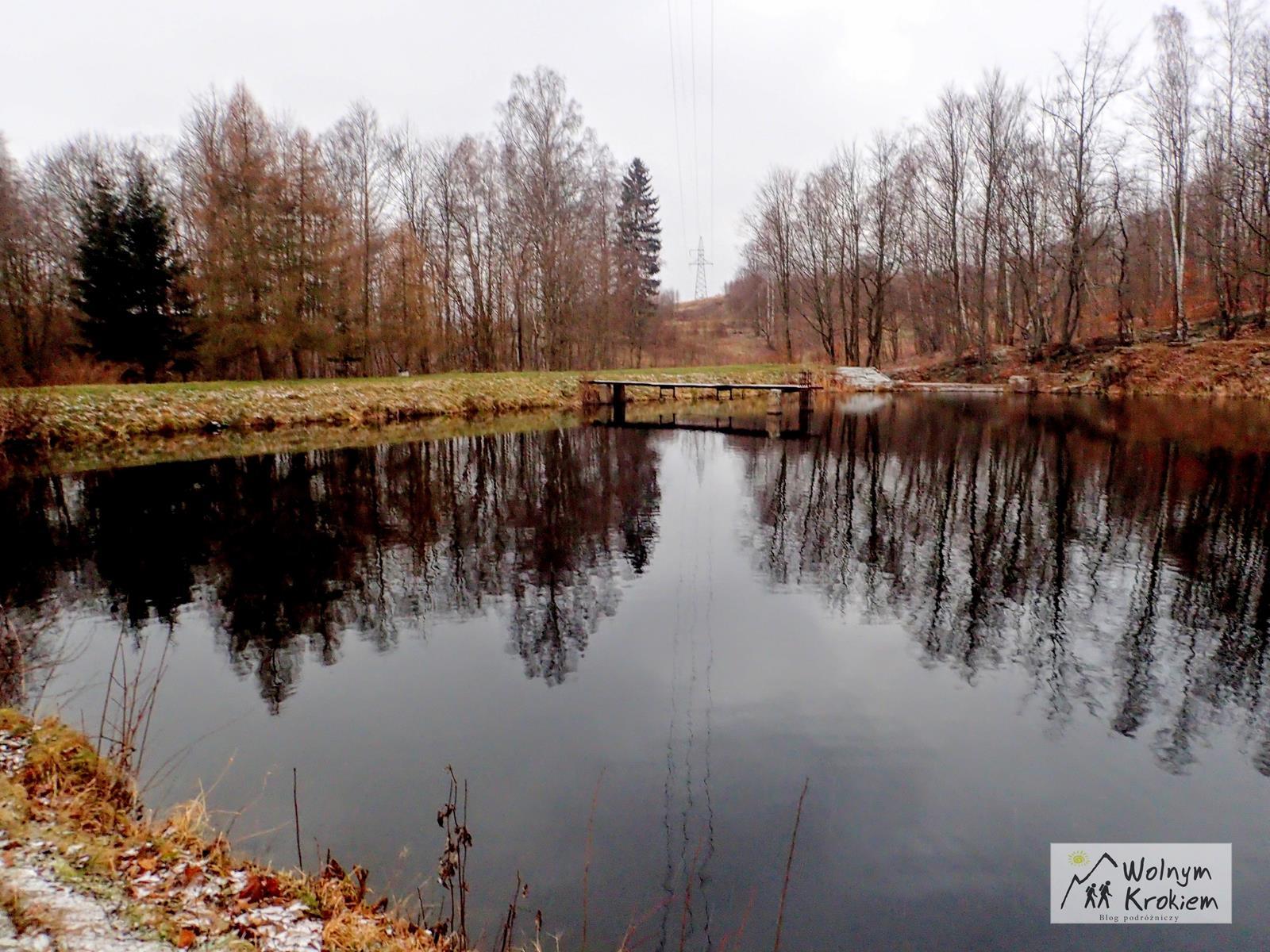 Stawy w Głuszycy - szlak na Włodarza
