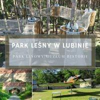 Park Leśny w Lubinie - darmowy park linowy, muzeum historii i dawna strzelnica artylerii