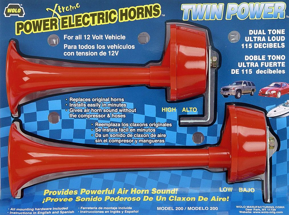 model a horn wiring diagram 1998 f150 alternator wolo electric horns for cars trucks boats rv s and motorcycles click to enlarge picture of 200