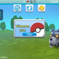 Gaming Chair Companies Wheelchair Yoga Videos Vitamon Go Released - Experience Ar On Your Vita With A Pokemon Go-esque Game! Wololo.net