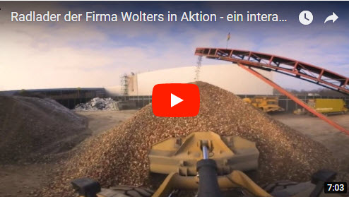 Radlader in Aktion – ein 360° interaktives Video