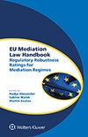 EU Mediation Law Handbook: Regulatory Robustness Ratings for Mediation Regimes