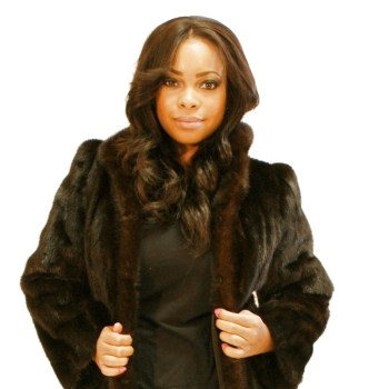 Small Ranch Mink Coat 016409