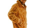Whiskey Mink Jacket 3XL 017502