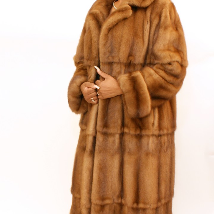 Demi-Buff Mink Swing Coat